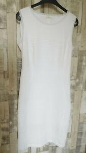 AIRFIELD  < super schickes Kleid < weiß <  Syntet/Visk/Elast.  Gr. 36/38    wie