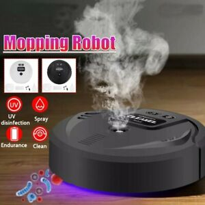 Fully automatic multifunctional smart robot cleaner USB charging vacuum/mop