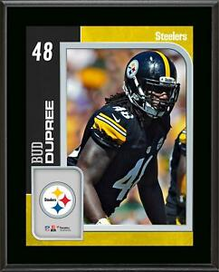 Bud Dupree Steelers 10.5' x 13' Sublimated Player Plaque - Fanatics Authentic