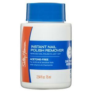 Sally Hansen Nail Polish Remover Pot Acetone Free 75ml For Sensitive Nail