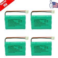 4x 800mAh Home Phone Battery for V-Tech 89-1323-00-00 8913230000 Model 27910 USA