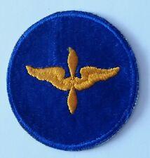 Patch US des cadets Air Force cut Edge WWII - 100% ORIGINAL