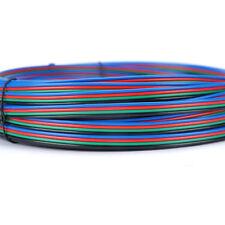 Wow - 20m 5050 3528 Led Rgb Tira De Luz 4pin conector de extensión Cable