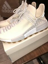 "Adidas Pharrell x NMD Human Race HU PRD ""Breathe"" ""Thoughts"" Cream White Size 9"