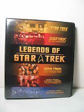 LEGENDS OF STAR TREK  BINDER BY RITTENHOUSE