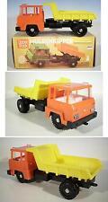 Plasticart Tipper Truck Intertrans Muldenkipper mit gelber Mulde OVP #2067