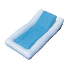 Swimline Inflatable SunSoft Hybrid Ride On Swimming Pool Float Raft Lounge Chair