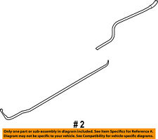 FORD OEM 08-14 E-350 Super Duty 5.4L-V8 Rear Ac Lines-Water Inlet AC2Z18663A