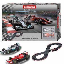 Carrera Formula Run 1/32 Slot Car Mercedes F1 / Ferrari F1 / 14.76 ft Track Set