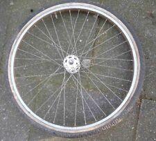Fahrradreifen Vorderrad Nabe Sachs 26 Zoll rostige Felge sonst guter Zustand