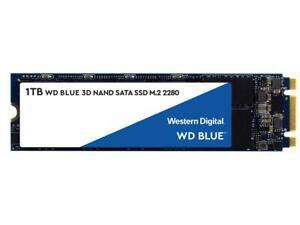 WD Blue 3D NAND 1TB Internal SSD - SATA III 6Gb/s M.2 2280 Solid State Drive - W