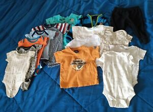 14 items- baby boy clothes size 3-9 months clothes lot