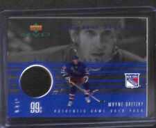 1999-2000 Upper Deck MVP Game Used Puck #GU-WG Wayne Gretzky