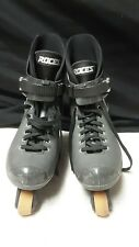 Roces Italy Men's Solid Black Aggressive Inline Skates Rollerblades Chapter 322