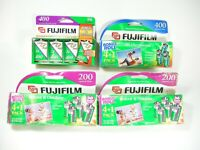 FujiFilm Lot 200 400 Speed 35mm Color 480 Exposures Total Expired
