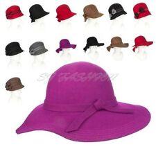 Gorras y sombreros de mujer 100% lana