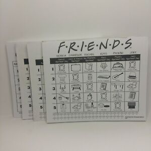 2002 Friends Trivia Game Replacement Note Game Pad