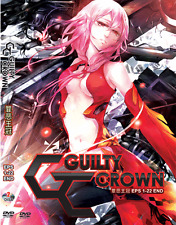 ANIME DVD GUILTY CROWN Vol.1-22 End Complete TV Series Region All + FREE ANIME