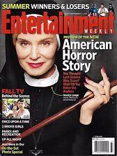 Entertainment Weekly Magazine American Horror Story Jessica Lange Richard Gere