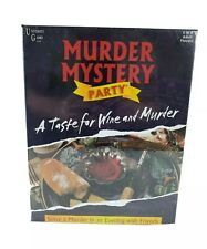 Murder Mystery Party Game, University Games, 2018, Brand New & Factory Sealed