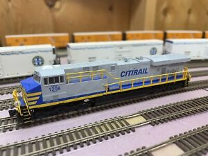 Fox Valley N Scale Locomotive With LocSound DCC And Dual Speakers