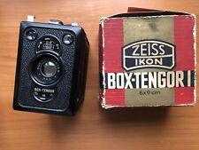 EXCELLENT,BOXED,ZEISS IKON BOX-TENGOR,D.R.P. GOERZ FRONTAR,F11 LENS,6X9 CAMERA