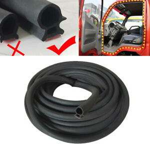 16.4 FT Semi Truck Lorry Van Door Seal Strip Rubber Weather Stripping Moulding O