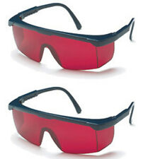Universal 2 Pack of Red Enhancement Safety Glasses