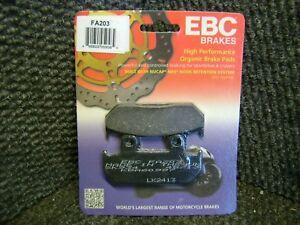 NEW EBC FA203 Organic Brake Pads FRONT BRAKE PADS HONDA CBR600 CBR600F2 1991-94