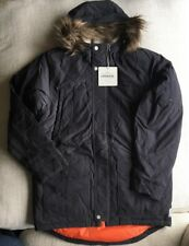 """Supremebeing Giacca Blu Navy """"PETER PARKER"""" MADE for ASOS RRP £ 180 Taglia XL"""
