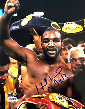"Evander Holyfield Signed ""The Real Deal"" 8x10 Photo PSA/DNA"