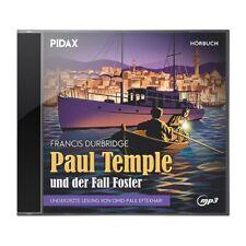 Francis Durbridge - Paul Temple und der Fall Foster * CD Hörspiel MP3-CD Pidax