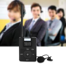 3.5 mm Portable LCD audio sans fil Transmetteur FM Stéréo Musique Radio Broadcast