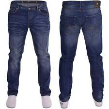 Crosshatch Cotton Mid Rise Jeans Men's Stonewashed