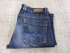 ORIGINAL ADO bootcut femme jeans denim bleu indigo taille w30 L29 Grade C K024