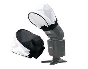 Cloth Universal SOFT Flash Bounce Diffuser for Canon Nikon Sony Metz Yongnuo FRE