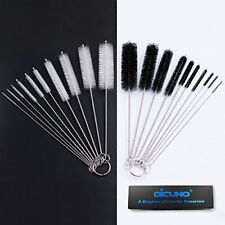 Nylon Tube Cleaning Brushes Set w/ Protective Design Strong Bendable Multi-Sizes