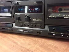 Doppia Piastra A Cassette Technics RS-TR212 _leggi_