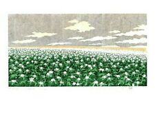 "NAMIKI HAJIME ""Hill-3 Potato"" Original Woodblock Print Art 2020 ED200 Japan F/S"