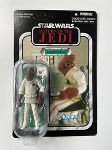 Star Wars TVC The Vintage Collection VC22 Admiral Ackbar ROTJ 2011 Un Punched