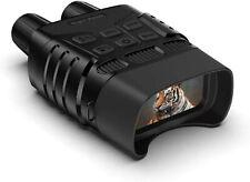 BOOVV Digitales Nachtsichtgerät Binokular,300 m Sichtweite 960P Video 4-facher D