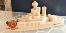 More details for increasingly rare world war one crested-ware battleship hms queen elizabeth