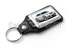 WickedKarz Cartoon Car Vauxhall Insignia SRi in White Key Ring