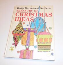 BETTER HOMES AND GARDEN TREASURE OF CHRISTMAS IDEAS 1966