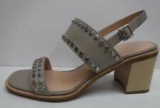G.H. Bass & Co Size 7.5 Gray Leather Dress Sandals New Womens Shoes