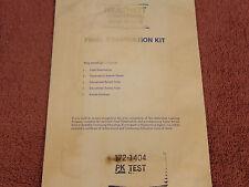 (1170) Heathkit Final Examination kit....172-1404 PK Test