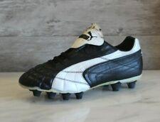 Puma King SL I FG Black Leather Soccer Cleats Size Football Boots US-7 RARE New