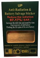 97.17% Anti Radiation Salvage Sticker Shield Battery Energy Saver Phone Stickers