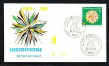 Germany Berlin 1985 FDC cover Mi 734 Sc 9N500 Mill in cancel,Horticultural show