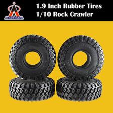 AUSTAR Crawler Car 1.9 Inch Rubber Wheel Tires for 1/10 D90 TRX4 SCX10 RC Car